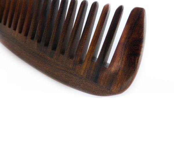 Der Einfache - dunkelbraun - YHCGB0601 - Holzkamm by smartkamm.ch